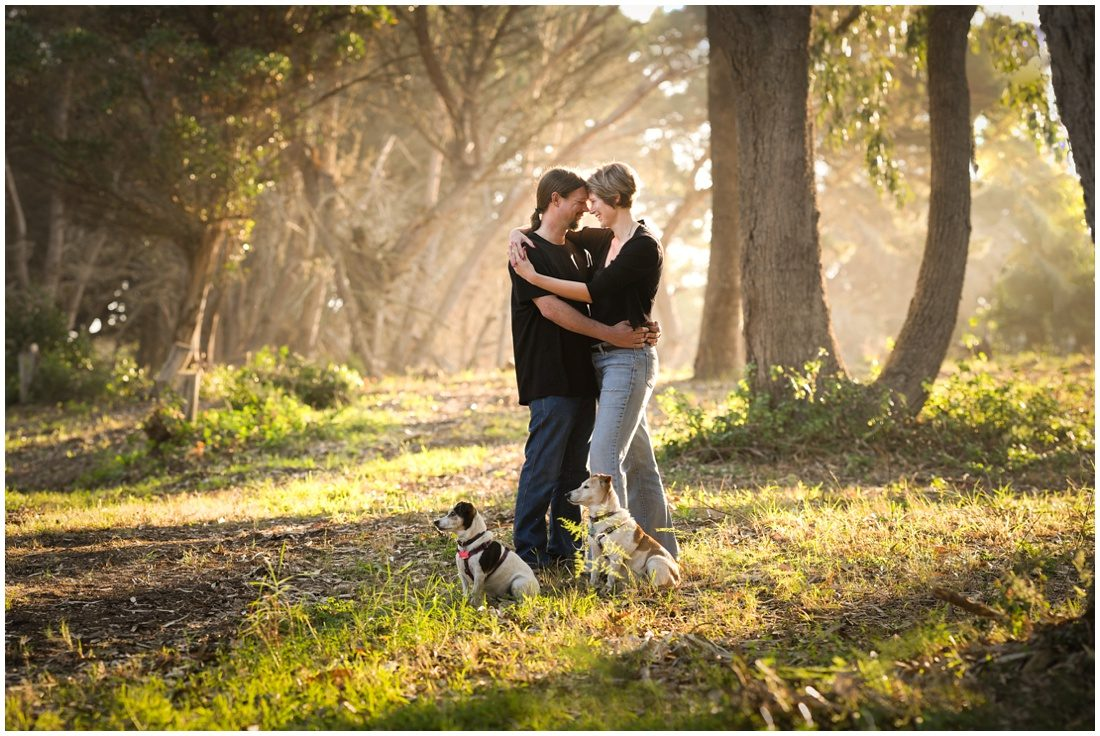 garden route couple and family portraits - mossel bay smit with k9 kids-11
