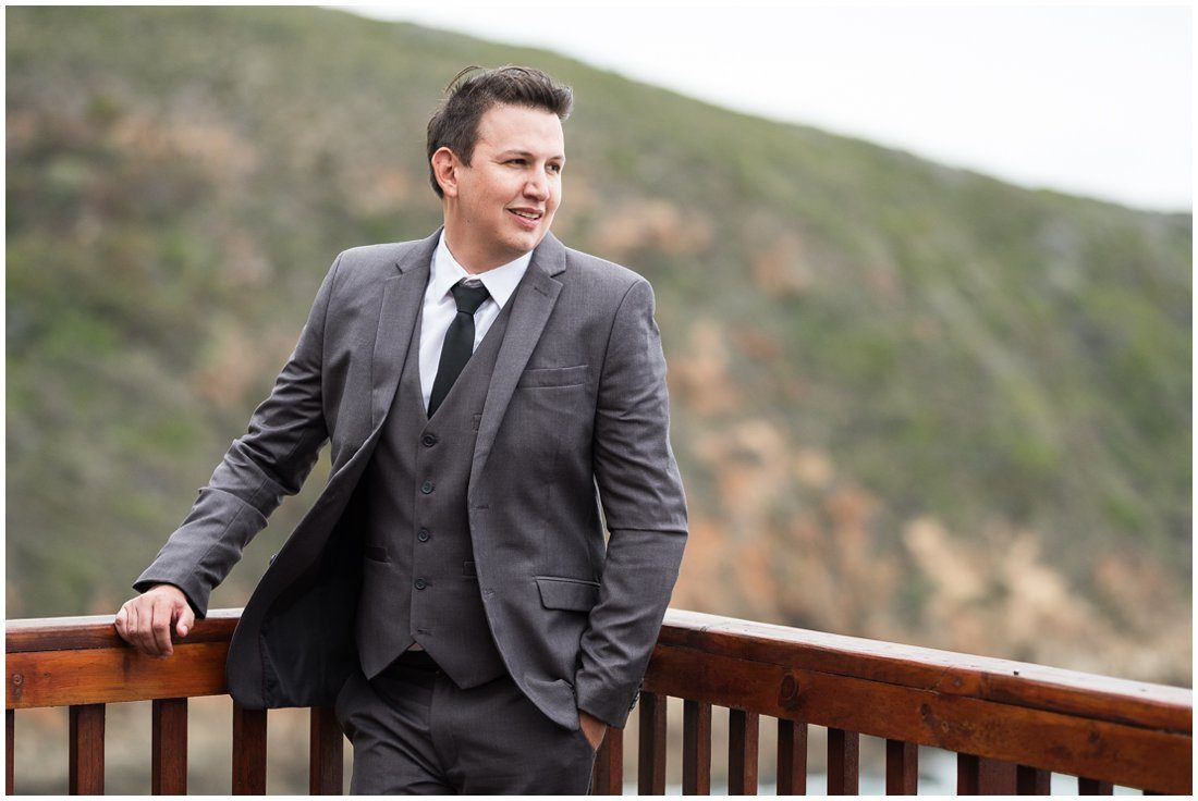 Garden Route-Uitsig Venue-Wedding-Donovan and Marike-Groom-2
