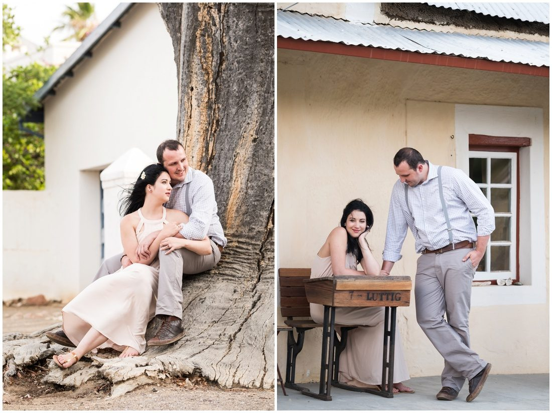 Klein Karoo - Prince Albert - Engagement shoot - Hanno and Ivette -9