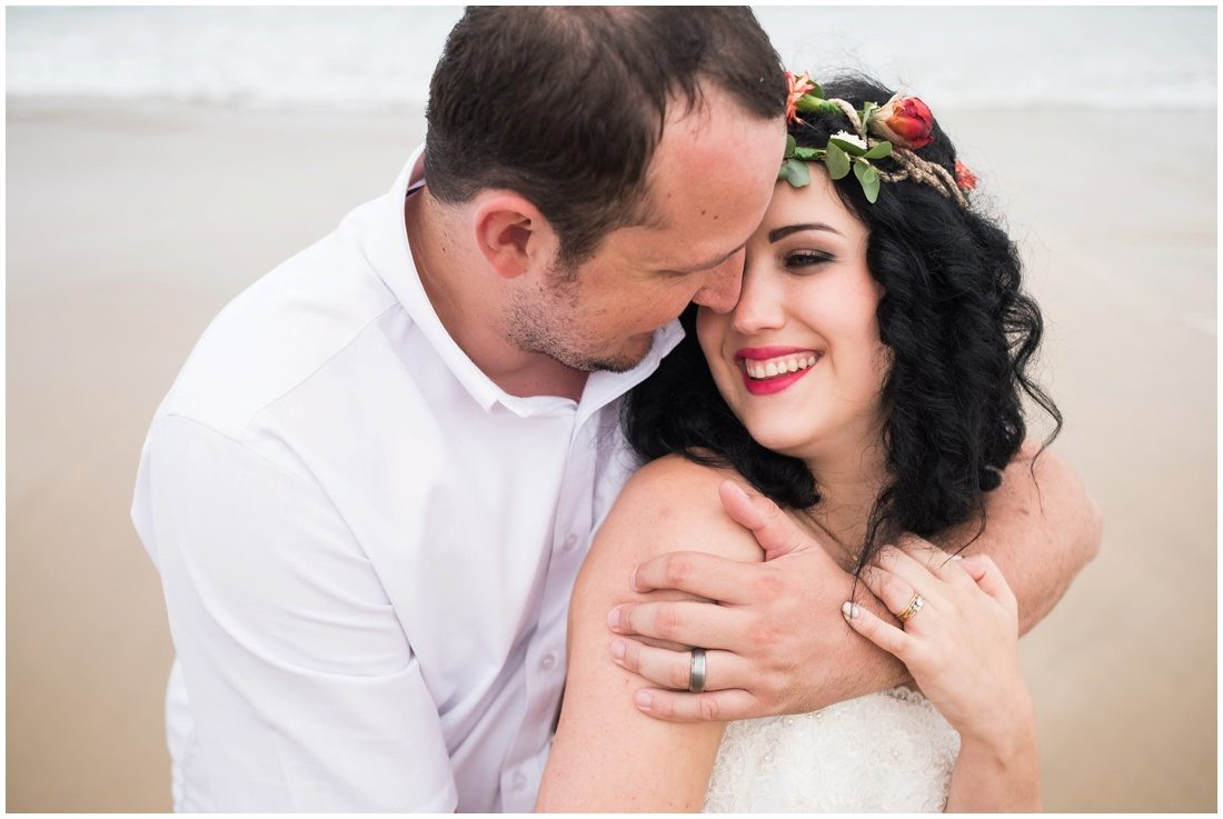 beach wedding couple portraits_0027