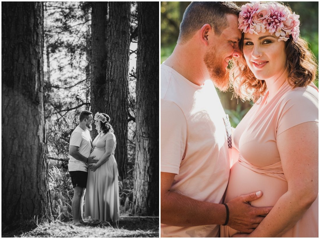 garden route forest beach maternity portraits steyn family_0003