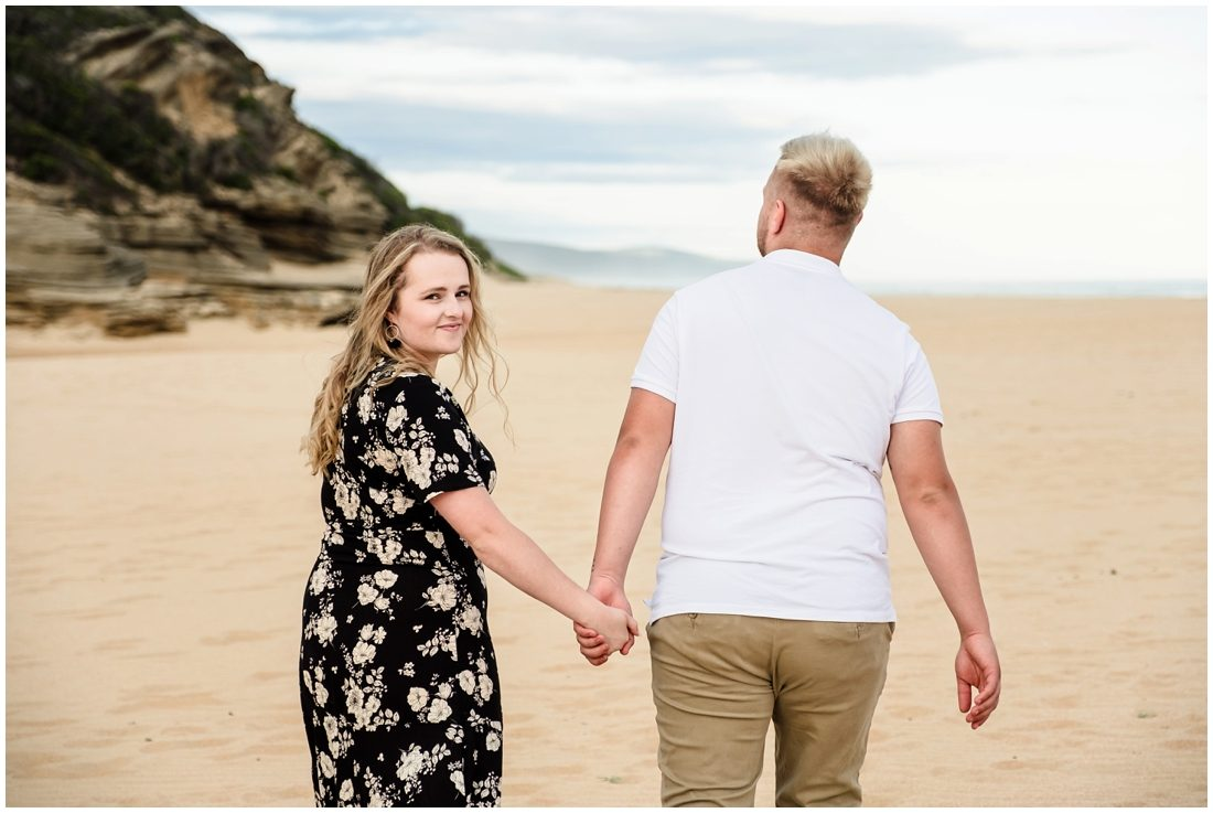 great brak beach engagement portraits tristan and rene_0004