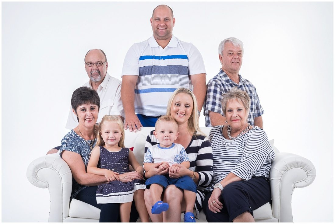 Garden Route-Mossel Bay-Studio and beach session-Haasbroek family-1