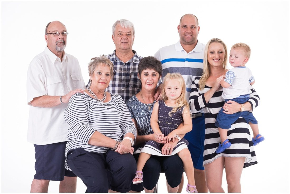 Garden Route-Mossel Bay-Studio and beach session-Haasbroek family-8