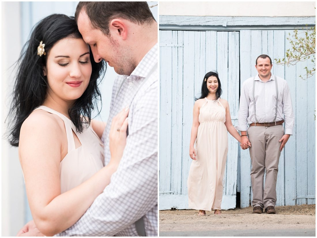 Klein Karoo - Prince Albert - Engagement shoot - Hanno and Ivette -1