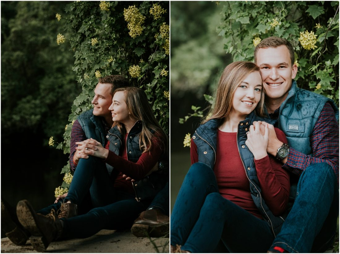 engagement shoot wilderness - vincent and lucinda_0005