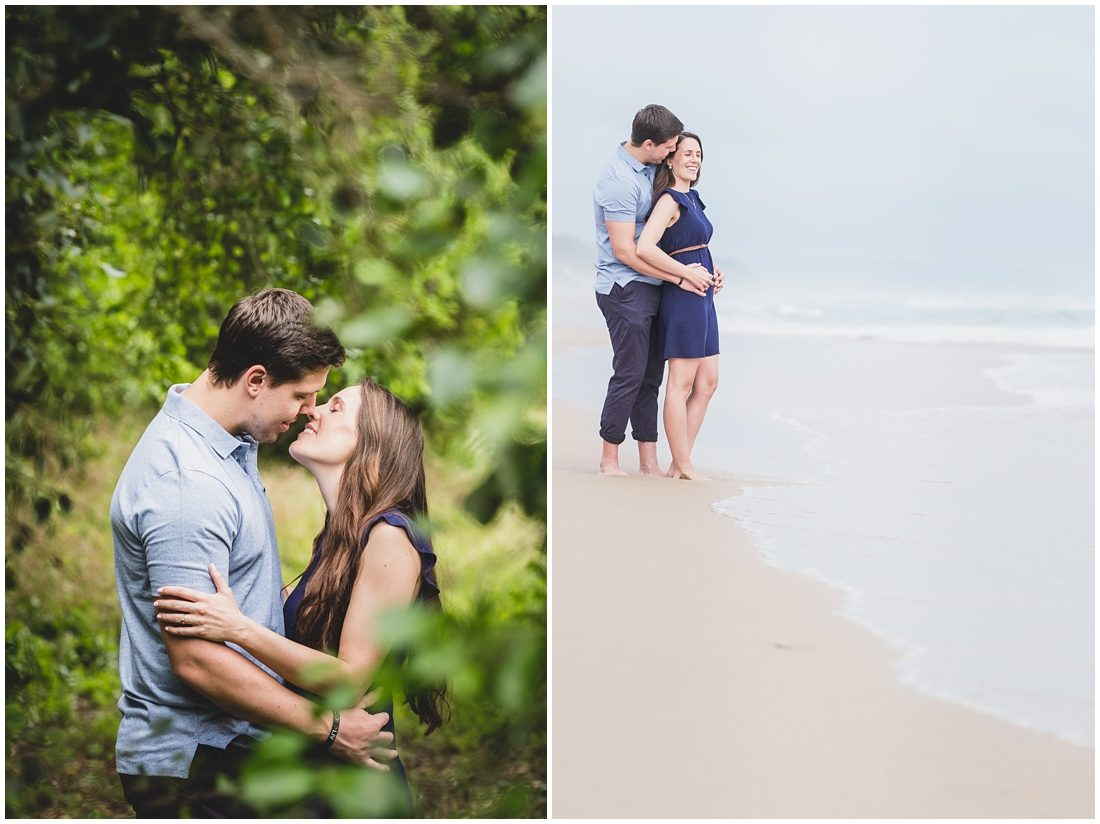 Wilderness Forest & Beach Engagement Shoot Murray & Hayley_0024